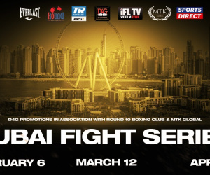 Dubai Fight Series D4G Promotions in association with Round 10 Boxing Club IFL TV, MTK Global february april march 2021