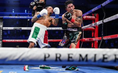 "Gervonta ""Tank"" Davis delivered knockout of the Year over four-division world champion Leo Santa Cruz highlights watch in full report result youtube"