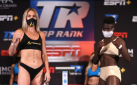 Weigh-In Results: Mikaela Mayer vs. Helen Joseph